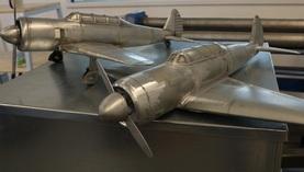 Modellflugzeuge aus Titanzink bauen